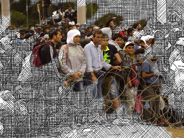 More refugees arrive at sealed Macedonian border